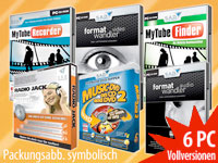 Video &amp; Audio Sauger-<br /> und Konverter-Paket