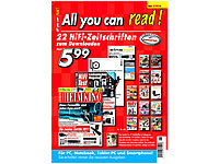 All You can read! - 22<br />aktuelle HiFi-Zeitschriften z...