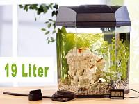infactory Beleuchtetes<br />Panorama-Aquarium &quot;Hexagon&quot; 1...