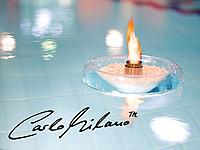 Carlo Milano<br />Schwimmendes Glas-Dekofeuer f&uuml;r Bio-Eth...