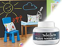 Infactory schultafelfarbe streichbare tafelfarbe f r mit kreide beschriftbare w nde 200 ml - Tafelfarbe kinderzimmer ...