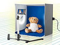 Somikon Professionelle<br />Foto-Studio-Box inkl. 2 Fotol...
