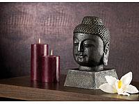 Nakamari Stilvolle<br />Buddha-Figur in antiker Bronze-Op...