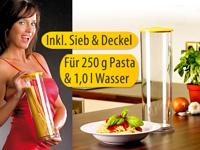 Rosenstein &amp; S&ouml;hne<br />Stromfreier Spaghetti-Garer &quot;Past...