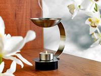 Britesta Edelstahl-<br />Duftlampe inklusive Teelicht