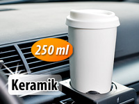 Rosenstein &amp; S&ouml;hne<br />Keramikbecher &quot;Coffee To Go&quot; + Si...