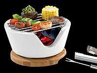 rosenstein s hne mini tischgrill f r holzkohle cook chips 13 cm refurbished. Black Bedroom Furniture Sets. Home Design Ideas