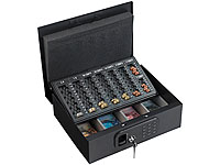 xcase geldkassette mit m nz z hleinsatz und elektronischem. Black Bedroom Furniture Sets. Home Design Ideas