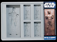 Star Wars Silikon-Form<br />Han Solo in Carbonite