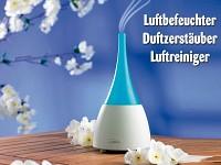 newgen medicals 4in1-<br />Ionen-Luftreiniger mit Ultrasch...