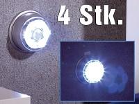 Lunartec LED-Nachtlicht<br />mit Bewegungsmelder &amp; Magnet...