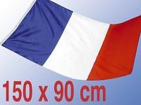 Länderflagge Frankreich 150 x 90 cm aus reißfestem Nylon Länderfahnen
