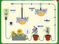 pflanzen bew sserungs system f r balkon terrasse und gew chshaus. Black Bedroom Furniture Sets. Home Design Ideas