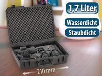 und wasserdichter Koffer 21 x 16,7 x 9 cm Staub Universal Box IP67