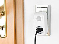 revolt steckdose mit bewegungssensor d mmerungsschalter zur licht steuerung. Black Bedroom Furniture Sets. Home Design Ideas