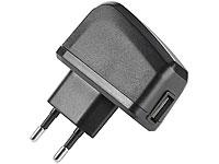 revolt<br />Reisefreundliches USB-Netzteil mit 1000 mA La...