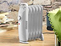 Sichler Mobile 600-Watt-<br />Elektroheizung mit &Ouml;l-Radiat...