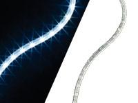 Lescars Flexible LED-<br />Leisten f&uuml;r Auto-Innenr&auml;ume, 38...
