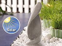 Lunartec Solar-LED-<br />Steinleuchte &quot;Wave&quot;