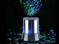 Lunartec Mobiler Mini-<br />Sterne-Projektor mit 3 Leuchtp...
