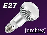luminea led energiespar reflektorlampe e27 r63 300 lumen. Black Bedroom Furniture Sets. Home Design Ideas