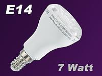 luminea energiesparlampe e14 reflektor r50 7 w kaltwei. Black Bedroom Furniture Sets. Home Design Ideas
