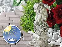 Lunartec<br />Gartendekoration &quot;Tr&auml;umender Engel&quot; mit Sol...