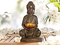 Lunartec Solar-LED-<br />Lampe Buddha