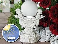 Lunartec<br />&quot;Engelsbrunnen&quot; mit Solar-LED-beleuchteter ...
