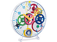 PEARL Meine erste Uhr:<br />Pendeluhr-Bausatz f&uuml;r Kinder