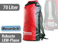 Semptec Wasserdichter<br />Trekking-Rucksack aus LKW-Plan...