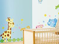 infactory sticker b gen tierisch lustige wandtattoos f rs. Black Bedroom Furniture Sets. Home Design Ideas