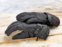 infactory Elektrisch<br />beheizte Handschuhe Gr XL
