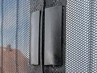 infactory selbstschlie endes fliegennetz f r t ren mit 18 magneten refurbished. Black Bedroom Furniture Sets. Home Design Ideas