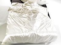 Wilson Gabor Luxuriöse Seiden Satin Bettwäsche 200x200 2x 80x80cm
