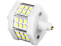 Luminea LED-SMD-Lampe mit 18 High-Power-LEDs, R7S, 78mm, warmweiß Luminea