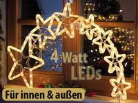 lunartec weihnachtsdeko kometenschweif mit 120 leds ip44. Black Bedroom Furniture Sets. Home Design Ideas