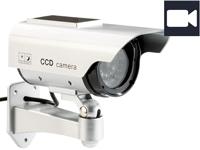 VisorTech Solar-<br />&Uuml;berwachungskamera-Attrappe / Dummy ...