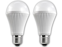 Luminea Highpower-LED-<br />Lampe, 9W dimmbar E27, warmwei...