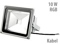 Luminea Wetterfester<br />LED-Fluter RGB im Metallgeh&auml;use...