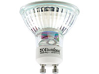 Luminea LED-Spotlight, Glasgehäuse, GU10, 3,3W, 230V, 300 lm, warmweiß,4er-Set Luminea LED Spot GU10 (warmweiß)