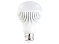 Luminea LED-Lampe, 9W,<br />E27, dimmbar, wei&szlig;, 5400 K, 6...