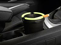 PEARL Auto-Aschenbecher<br />&quot;Glow-in-the-dark&quot; (auch f&uuml;r...