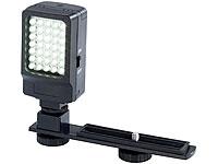 Somikon Foto- und<br />Videoleuchte mit 35 Tageslicht-LED...