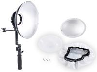 Somikon Beauty Dish mit<br />Handgriff und Halter f&uuml;r Sys...