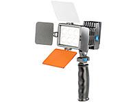 Somikon Profi LED-<br />Videoleuchte mit regelbarer Lichti...