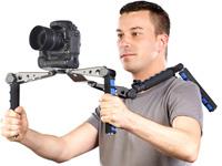 Somikon Profi-<br />Schulterstativ f&uuml;r DSLR-Video &amp; Camcor...