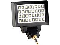 Somikon Videoleuchte<br />32 LEDs f&uuml;r Smartphones mit Kli...