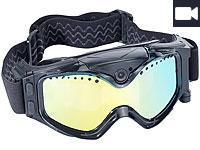 Somikon Premium<br />Skibrille mit integrierter HD-Action...