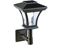 Lunartec Solar-LED-<br />Wandleuchte